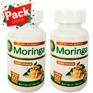 pack oferta moringa 300 mg aben lab