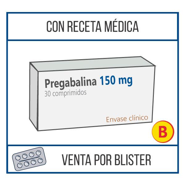 Pregabalina 150 mg 30 comprimidos