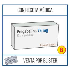 Pregabalina 75 mg 30 comprimidos