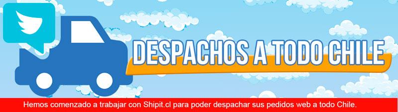 Despachos a todo chile vía Shipit.cl