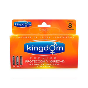 Kingdom protección y variedad 8 condones
