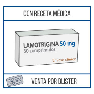 Lamotrigina 50 mg 30 comprimidos