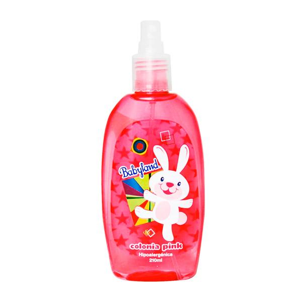 Babyland colonia pink rosada 210 ml