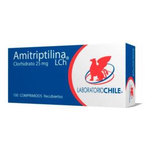 amitriptilina clorhidrato 25 mg 100 comprimidos
