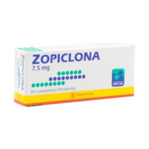 zoplicona 7.5 mg 30 comprimidos recubiertos