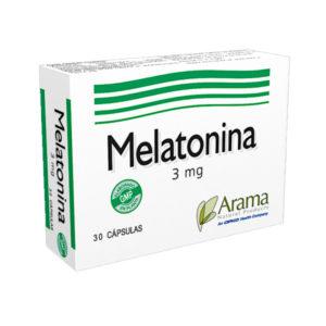 Melatonina 3 mg 30 cápsulas