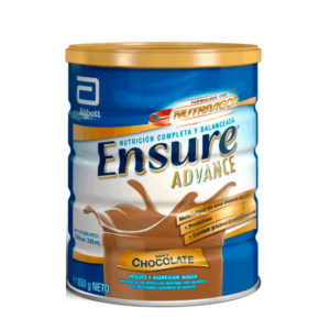 ensure advance chocolate 850 g