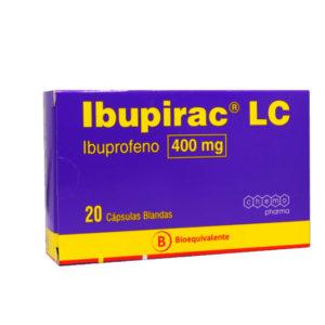 Ibupirac 400 mg 20 cápsulas