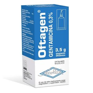 oftagen gentamicina 3 5 g unguento oftálmico nicolich