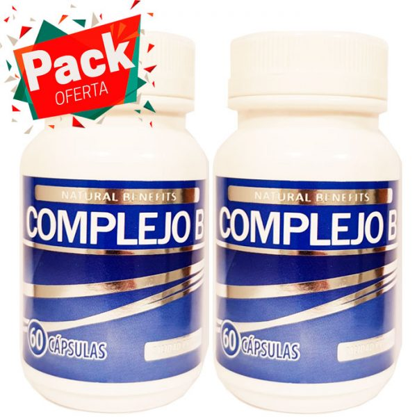 Pack oferta Complejo B 60 cápsulas