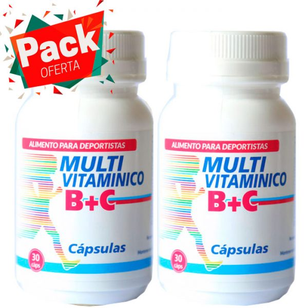 Pack Oferta Multivitamínico B + C