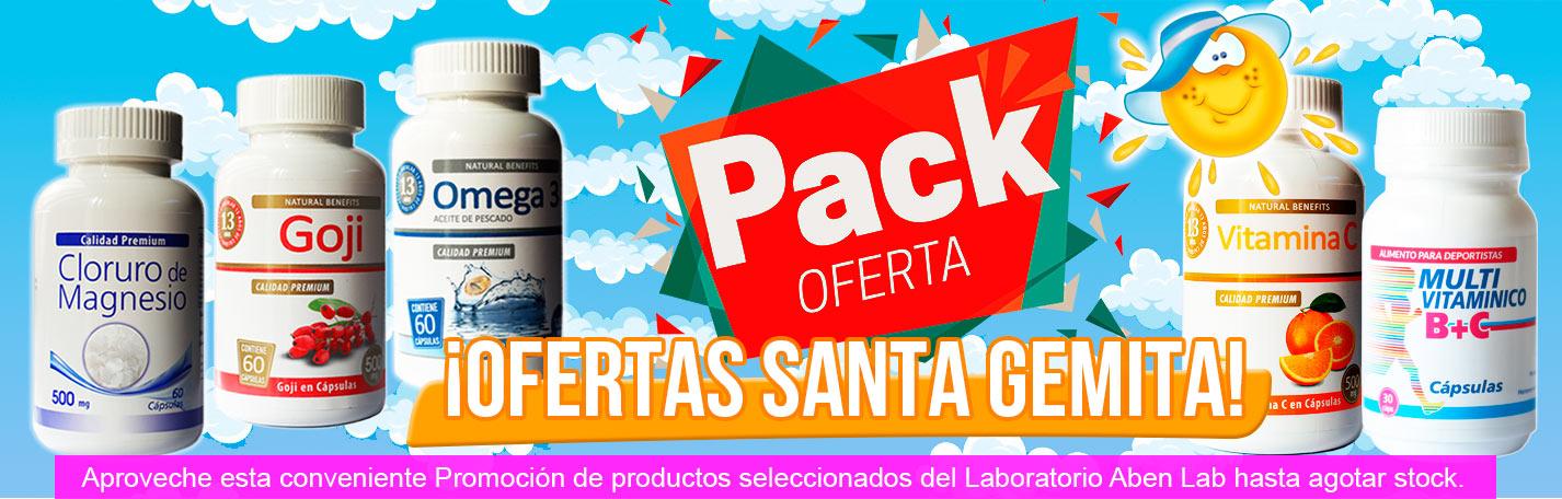 Pack Ofertas Productos Naturales Laboratorios Aben Lab