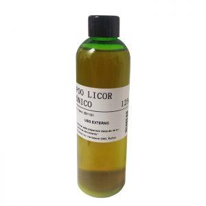 Shampoo Licor Carbónico 125 ml Preparado Oficinal Farmacia Santa Gemita