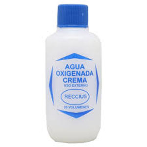 agua oxigenada crema 20 volúmenes 55 ml Reccius
