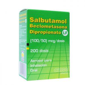 salbutamol beclometasona dipropionato 100 50 mcg dosis 200 dosis
