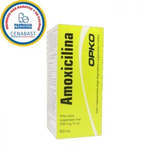 Amoxicilina polvo para suspensión Opko - Cenabast