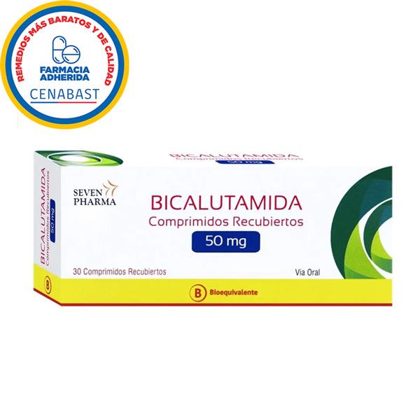 bicalutamida 50 mg 30 comprimidos recubiertos seven pharma