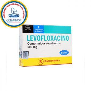 levofloxacino 500 mg 7 comprimidos baden cenabast