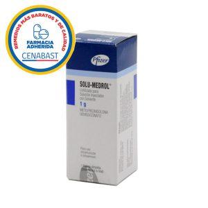 solu-medrol 1 g 1 frasco ampolla