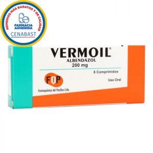 Vermoil Albendazol 200 mg fqp