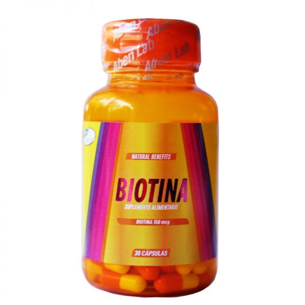 Biotina 30 cápsulas Aben LAB
