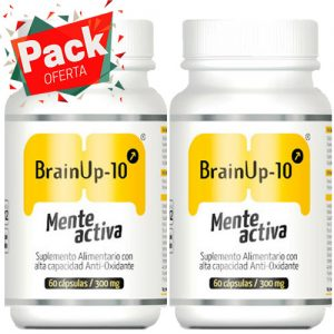brain up 10 mente activa pack oferta