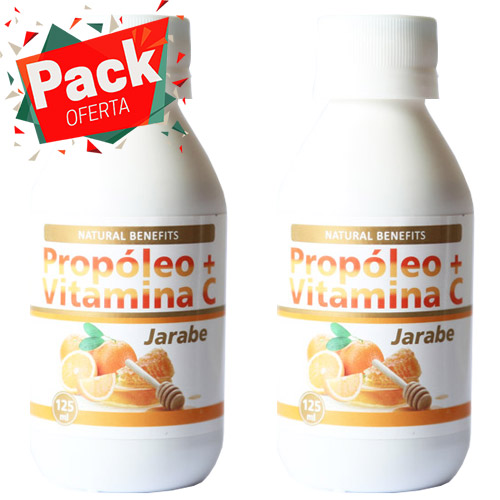 pack oferta propoleo + vitamina c
