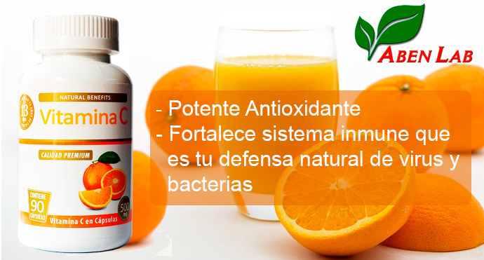 Vitamina C Laboratorio Aben Lab