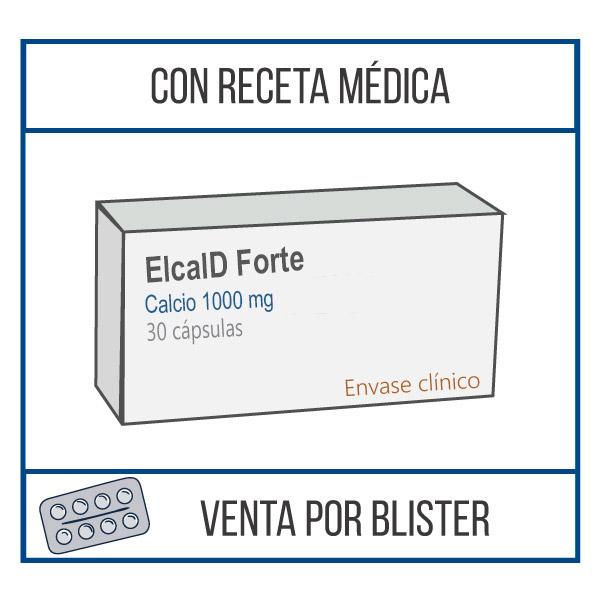 Elcal D Forte 1000 mg fraccionamiento