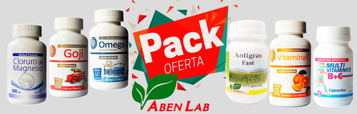 Pack Ofertas Productos Naturales Laboratorios Aben Lab