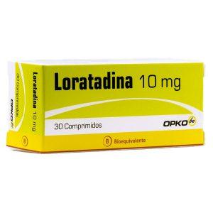 loratadina 10 mg 30 comprimidos opko