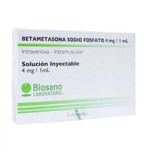 Betametasona Sodio Fosfato 4 mg 1 ml