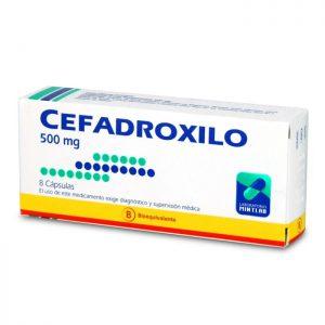cefadroxilo 500 mg 8 cápsulas mintlab