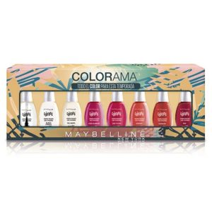 Set esmalte de uñas colorama maybelline new york