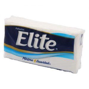paquete de pañuelo desechable elite