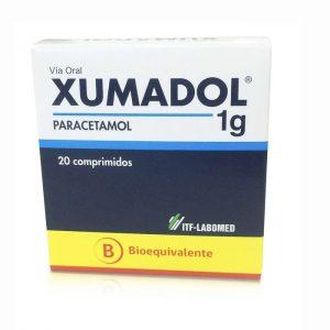 xumadol 1 g paracetamol 20 comprimidos Itf Labomed