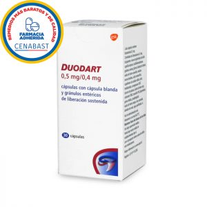 Duodart 05 mg 04 mg 30 cápsulas gsk