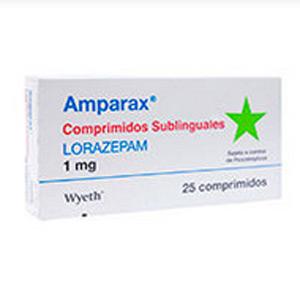 Amparax lorazepam 1 mg