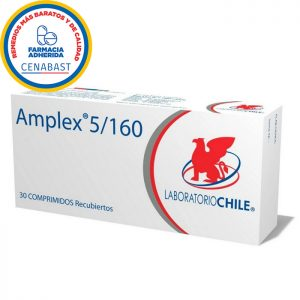 amplex 5 160 30 comprimidos recubiertos laboratorio Chile.