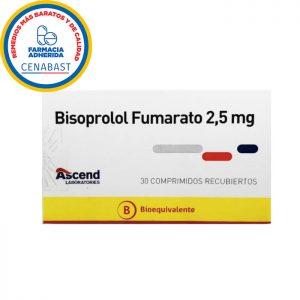 bisoprolol fumarato 30 comprimidos recubiertos Ascend