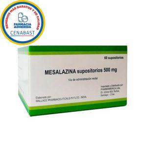 Mesalazina 60 supositorios 500 mg Wallace pharmaceuticals
