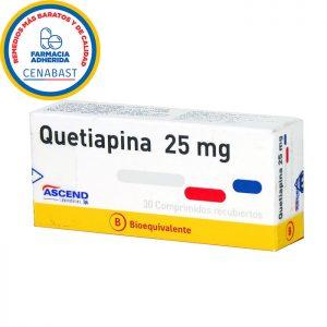 Quetiapina fumarato 25 mg ascend