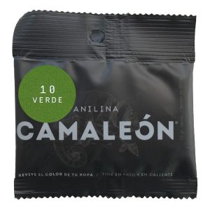 anilina camaleón 10 verde