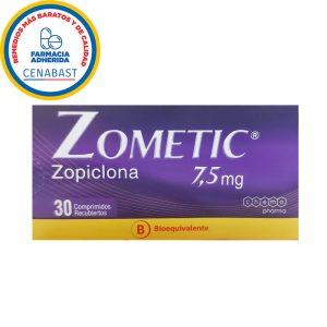 Zometic zopiclona 7,5 mg chemopharma