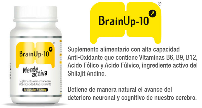 Brain Up Mente Activa 60 cápsulas